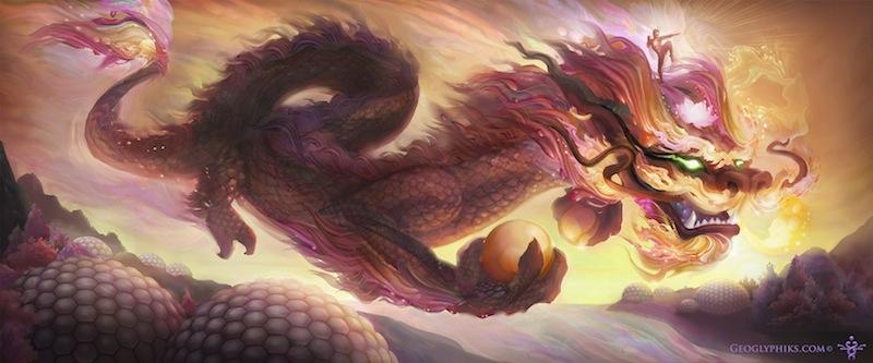 Blooming Dragonheart