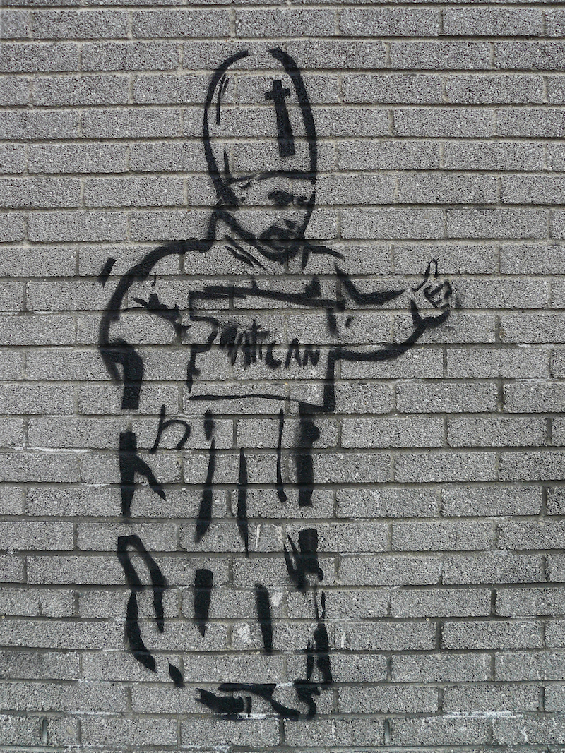 Papal Graffiti